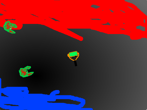 "Игра ""Зомбики"" - автор: Сайдулин Кирилл (8лет)"
