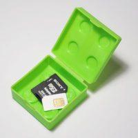 Зеленая Лего коробочка